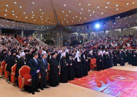 Епископ Иринеј на свечаној академији у Русији