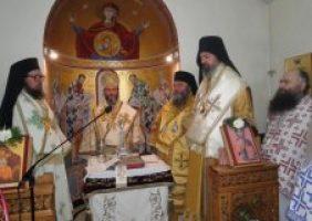 ВЛАДИКА ИСИХИЈЕ У ПОСЕТИ ПРАВОСЛАВНОЈ ОХРИДСКОЈ АРХИЕПИСКОПИЈИ