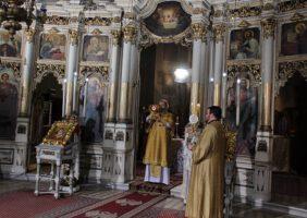 Крстопоклона недеља у Саборном храму у Новом Саду