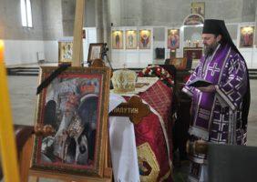 Молитвени опроштај од Владике Милутина