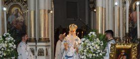 Празник Рођења Пресвете Богородице у Саборном храму у Новом Саду