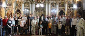 Епископ Иринеј угостио ученике Призренске богословије