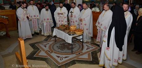 У Бачкој Паланци прослављена слава храма Покрова Пресвете Богородице