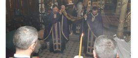 Вечерње Великог петка и Јутрење Велике суботе у Саборном храму у Новом Саду