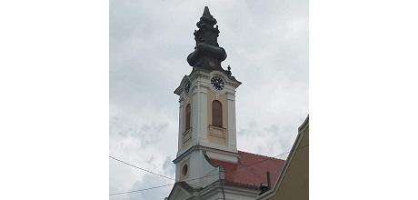 Ветар срушио крст са храма у Кулпину