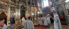 Прослављен Петровдан у Саборном храму у Новом Саду