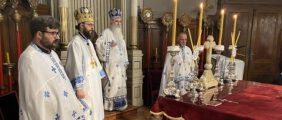 Евхаристијско сабрање у Саборном храму у Новом Саду